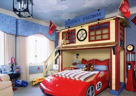 大户型男孩欧式儿童房装修效果图
